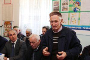 Владимир Васильев с рабочим визитом в селе Тисси-Ахитли.