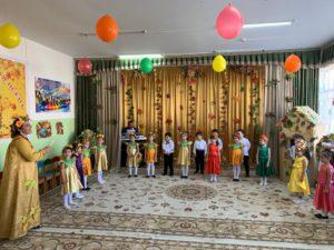 Воспитанники детского сада «Солнышко» простились с осенью.