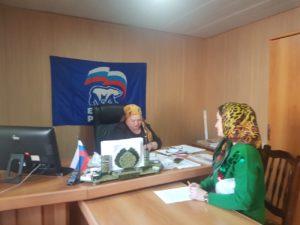 Приемный день «Единой России» провели в управлении образования.