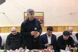 Глава Гергебильского района  поздравил сотрудников полиции.