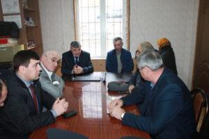 Рамазан Малачилов встретился с общественностью села Курми.