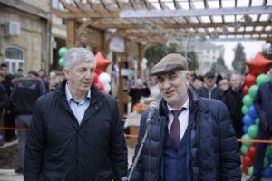 В рамках проекта «Мой Дагестан – Комфортная городская среда» в Дербенте открыли реконструированный переулок Казем-Бека
