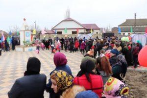 В рамках проекта в Докузпаринском районе открыли парк и пешеходный тротуар