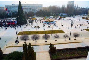 Рамазан Малачилов принял участие в открытии центральной площади столицы Республики Дагестан