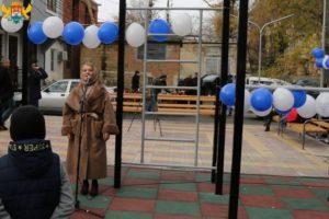 Открытие  в Махачкале двора по проспекту Гамзатова,106
