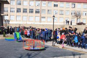 Открытие парковой зоны в селении Гергебиль.