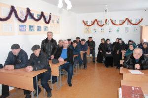 Глава Гергебильского района с рабочей поездкой посетил село Маали.