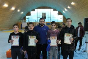 Первенство района по вольной борьбе среди юношей 2003-2004 г.р. прошло в Гергебильском района.