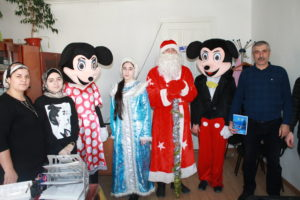 В Гергебильском районе провели новогоднюю акцию.