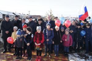 Благоустроенные скверы – подарок  жителям села к Новому году