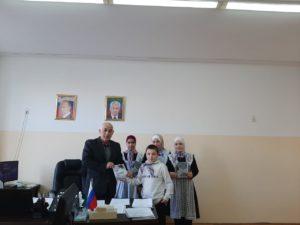 Школьники Гергебильского района присоединились к Всероссийской акции памяти «Блокадный хлеб».