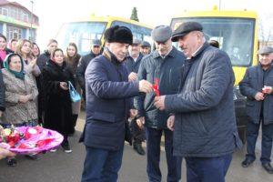 С 2020 года шесть школ Сергокалинского района будут пользоваться  новыми автобусами