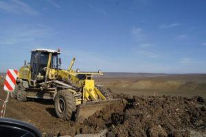 Капитальный ремонт дороги республиканского значения Буйнакск-Кадар продолжается