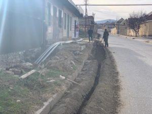 Власти Избербаша ведут работы по прокладке  нового водопровода