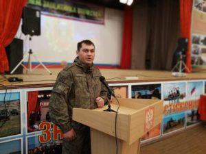 В 136-й гвардейской мотострелковой бригаде, дислоцированной в Буйнакске, прошли торжества посвященные Дню защиты Отечества
