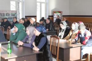 В Гергебильском районе состоялось совещание с председателями и секретарями участковых избирательных комиссий.