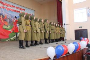 Конкурс «Песни военных лет» прошел в Гергебильском районе.