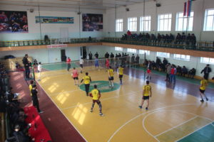 В Хивском районе провели традиционный турнир по волейболу в честь Дня защитника Отечества