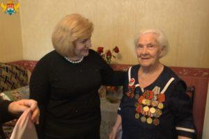 Участниц войны поздравили с 8 марта