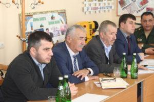 Выездное заседание АТК состоялось в Гергебильском районе.