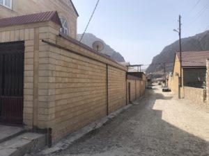 Внутреннюю разводку  газопроводной сети проводят в селе Гергебиль Гергебильского района.
