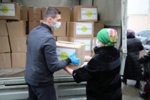 В Дербенте  продуктовые наборы получат более 2000 семей