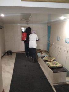Масштабную санитарную обработку провели в Гергебильском районе.