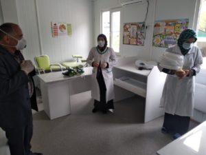 Средства индивидуальной защиты и дезинфицирующие средства были переданы села Могох и Кудутль.