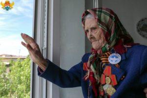 Праздничным концертом отметили в Махачкале 100-летие ветерана Великой Отечественной войны