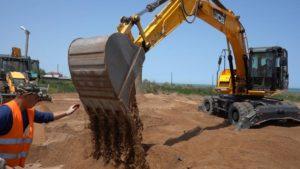 В Дербенте  продолжается строительство новой инфекционной больницы по проекту Минобороны РФ