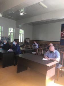 Очередное заседание оперативного штаба состоялось в Гергебильском районе.