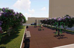 В Кизилюрте продолжается реализация проекта «Комфортная городская среда»