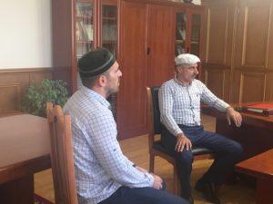 Рамазан Малачилов встретился с представителями села Гергебиль