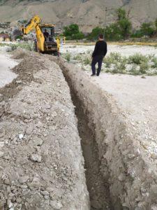 Дополнительную водопроводную линию проводят в селе Маали Гергебильского района.
