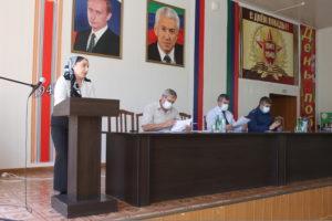 Очередная сессия районного Собрания состоялась в Гергебильском районе