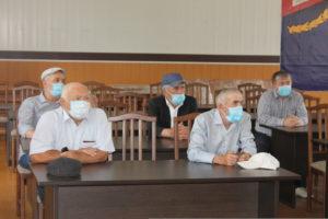 Председатели УИК Гергебильского района приняли участие в обсуждении основных вопросов подготовки и проведения голосования по поправкам в Основной закон страны