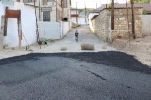 В Кайтагском районе проводится капитальный ремонт центральной улицы села Верхний Маджалис