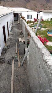 Строительство в селении Маали