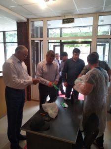Глава Гергебильского района Рамазан Малачилов проголосовал за внесение поправок в Конституцию.
