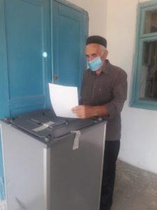 На участке для голосования в селе Кудутль Гергебильского района показывают высокую явку.
