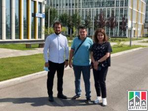 Специалисты ГКБ Махачкалы завершили трехдневный рабочий визит в коммунарку