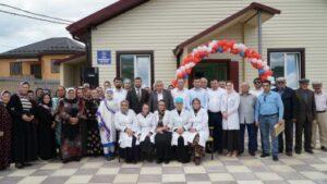 В  Казбековском районе состоялось открытие ФАПа в рамках программы устойчивого развития сельских территорий