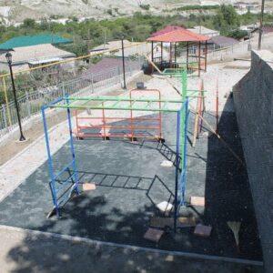 Завершилось строительство сквера в селе Кикуни Гергебильского района