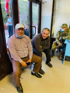 Свой гражданский долг выполнил заместитель главы Гергебильского района Асхабали Маликов