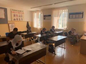 В общеобразовательных организациях Гергебильского района проходят Всероссийские проверочные работы среди обучающихся 5-8 классов