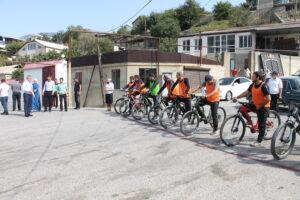 Районный велокросс состоялся в Гергебильском районе