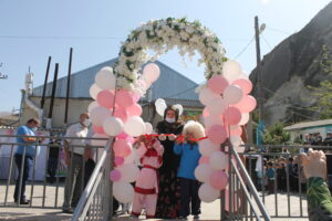Две парковые зоны окрыли в Гергебильском районе