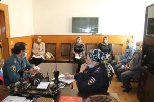 Вопросы обеспечения пожарной безопасности обсудили в Гергебильском районе