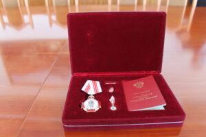 Обладателя ордена Пирогова Айшат Идрисову чествовали в Гергебильском районе
