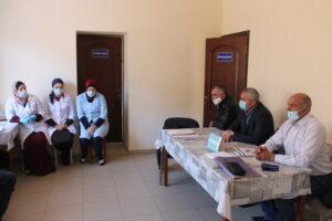 Магомедали Тагиров посетил село Курми Гергебильского района